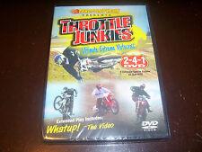 THROTTLE JUNKIES Off-Road ThrottleTV.com Extreme Motocross DVD NEW & SEALED