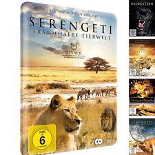 Serengeti - Traumhafte Tierwelt (4 Filme / 2 DVD - Metallbox, Hugo van Lawick)
