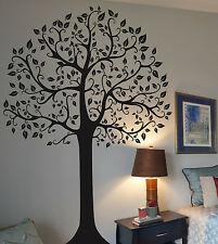 7 FT. BIG TREE  Deco Art Sticker Mural and 2 Lettering Wall Decals