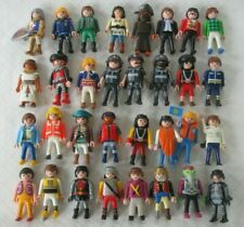 Lot of 50+ PLAYMOBIL PEOPLE Pirates Police Knights....Woman Kids Men...... EUC