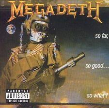 MEGADETH - SO FAR, SO GOOD...SO WHAT! [BONUS TRACKS] [PA] (NEW CD)