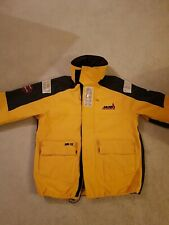 Musto Womens Ladies MPX goretex sailing Jacket Yellow £300+ new small