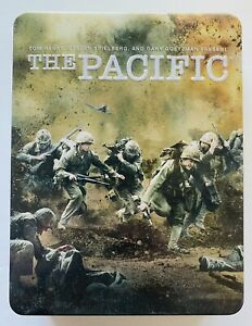 The Pacific (DVD, 2010) Collectible Tin Box Set