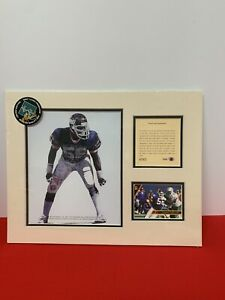 Vintage Lawrence Taylor Kelly Russell 11x14 Limited Edition Lithograph New(1993)