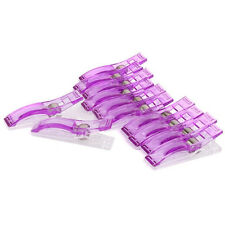 10pcs Jumbo Wonder Clips Fabric Clamps for Craft Sewing Quilting Binding Tools