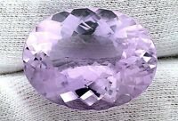 38.64 Carat Oval Natural Brazilian Amethyst Gem Stone Gemstone Natural Facet
