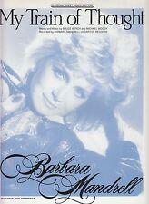 Il MIO TRENO DI PENSIERI-Barbara Mandrell - 1988 SPARTITI MUSICALI