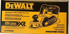 Dewalt DCP580B 20 volt XR Cordless Brushless 3 1/4 Planer New in the Box