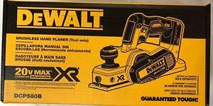 Dewalt DCP580B 20 volt XR Cordless Brushless 3 1/4 Planer New in the Box