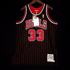 100% Authentic Mitchell Ness Scottie Pippen Bulls 96 97 Jersey Size 52 2XL