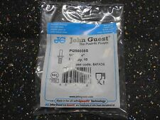"(10 each )John Guest Barbed Tube Fitting, Stem, 1/4"" Stem Od x 1/4"" Hose"