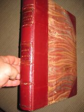 1888 French Captain Jean-Roch Coignet memoirs fine leather oversize binding 1776