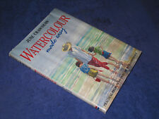WATERCOLOUR MADE EASY June Crawshaw, HB 1st, 1995. Amateur artist learn to paint