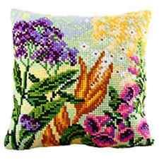 Collection D'Art Cross Stitch Cushion Kit: Lupin Dream 1 CD5188
