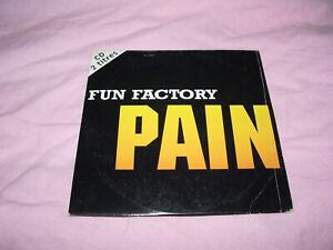 /// CD SINGLE FUN FACTORY PAIN / EURO DANCE 1994