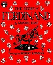 The Story of Ferdinand by Munro Leaf (1977, Paperback) Five in a Row Book