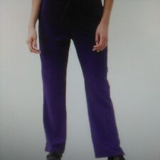 Classic Fit Collection by Jockey Women's Tri Blend Zipper Scrub Pants Xs petite