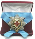 GREAT BRITAIN THE MOST NOBLE ORDER OF THE GARTER STAR WITH RHINESTONES