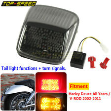 Multi LED Brake Tail Light Turn Signal Blinker For Harley All Deuce V-Rod 02-11