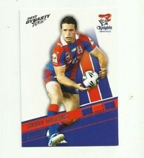 2012 NRL SELECT DYNASTY NEWCASTLE KNIGHTS DANNY BUDERUS COMMON #90 FREE POST