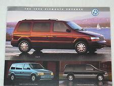 Plymouth Voyager - US-Prospekt Brochure 1995