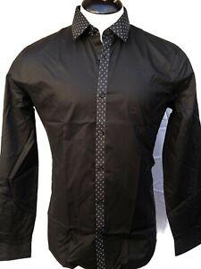 Express Kirkwood Slim Fit Shirt Men's - Black - Sm, Med, Lg - NWT $59