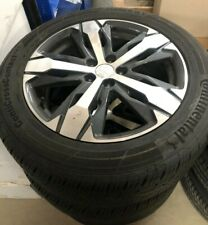 GENUINE PEUGEOT5008 18 INCH ALLOY WHEELS W/TYRES 98116350EH USED