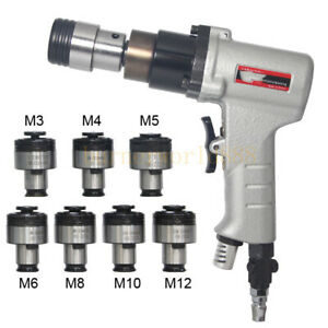 Air Pneumatic Tapping Machine Drilling Tapper & Overload Protection Chuck M3-M12