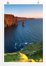 60x90cm Landschaftsfotografie - Cliffs of Moher bei Sonnenaufgang