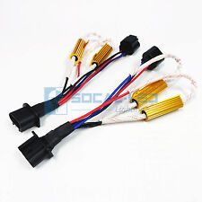 HID Relay Harness H13 9008 Dual Resistor Kit Anti Flicker Adapter Error Decoder