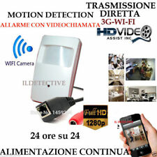 Telecamera Spia WIFI HD SENSORE ip ALLARME TELECAMERA MICRO NASCOSTA MICROCAMERA
