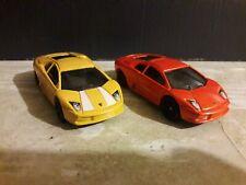 Hot Wheels Set Of 2 Lamborghini Murcielago 1/64