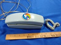 1970s-80s VTG Retro Light Blue-Green PROP TELEPHONE COSMO PHONE PUSH BUTTON WALL