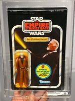 AFA 85 Star Wars 1982 Kenner ESB Ben Kenobi 48-back-B (C80 B85 F85) CLEAR NM+