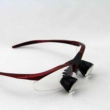 2.5X Medical Loupe Dental Loupes Magnifying Glasses 300-500mm Eyes Customized