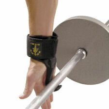 Gold's Gym Hook Lifting Straps Weight Lifting Grip Support Gym Power Wrist Wraps