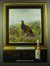 1982 The Famous Grouse Scotch Ad - Quality in an Age of Change
