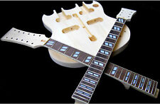 BUILD YOUR OWN SG STYLE DOUBLE NECK 12 & 6 STRING ELECTRIC GUITAR