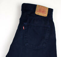 Levi's Strauss & Co Hommes 551 Droit Jambe Jeans Standard Taille W38 L34 AMZ571