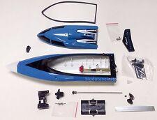 B01B: 1 set mini RC Racing Boat/AquaCraft Body Parts,ARTR,L30cm(12 inch) Blue