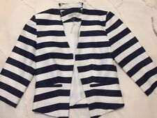 Size 8 Target navy/white  jacket. Excellent condition.