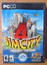 Sim City 4 Deluxe Edition (with 'Rush Hour') Windows PC CD