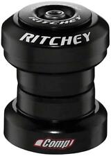 "Ritchey Comp Logic 1-1/8"" Threadless Headset: EC34/28.6 EC34/30, Black"