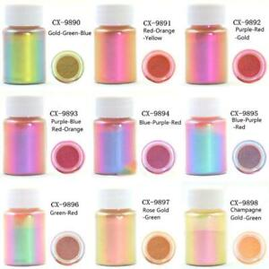 Mirror Chameleons Mineral Mica Pearlescent Powder Epoxy Resin Dye Pearl Pigment