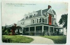 1910s prelinen postcard of Summer Home of President Taft, Beverly, Mass..