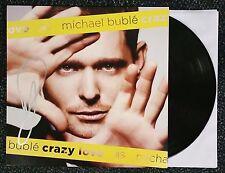 MICHAEL BUBLE SIGNED CRAZY LOVE LP VINYL RECORD ALBUM W/COA AUTOGRAPHED