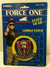 """ERTL Flite Gear Combat Patch  - Attack Squadron 176""""Go Ahead... Make My Day"""""""