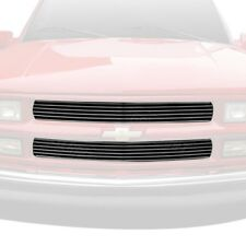 Chevy Silverado 95-98 Grillcraft 2-Pc BG Series Polished Billet Main Grille