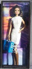 Barbie City Shopper Look Brunette 2012 Mattel X9196 Dress Jumper White Doll New