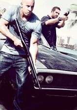 Fast Five Movie Poster 24x36 vin diesel shotgun